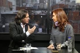 cristina y peña entrevista